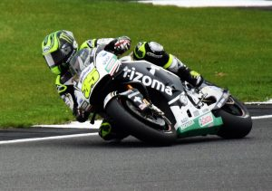 Cal Crutchlow through Luffield furing Friday's Moto GP FP2
