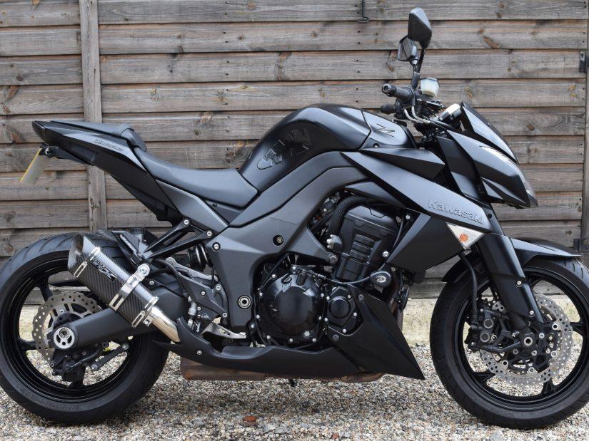 Sold Kawasaki Z1000 Ddf Black Edition 2 Owners 3200 Miles 2013