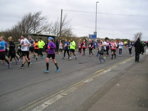 1000s of people ran in the Hastings Half Marathon to raise monies for worthwhile causes