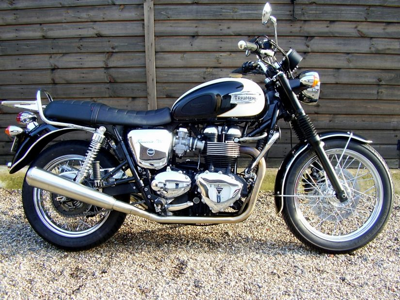 Sold Triumph Bonneville T100 865 Efi Beautiful With Key Options