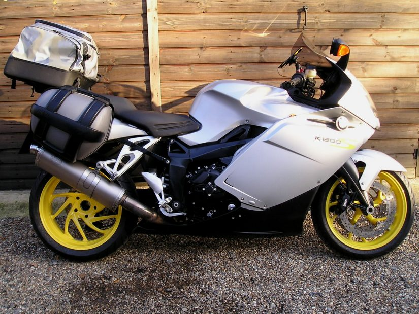Sold Bmw K1200s Abs 20000 Miles 3 Owners Sport Panniers Rack