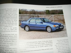 .......along with our early Crystal Blue Sapphire RS Cosworth 2wd