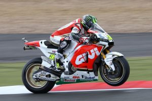 Cal Crutchlow's appropriately numbered 35 LCR Honda, enables the first British rider victory in the premier class for 35 years