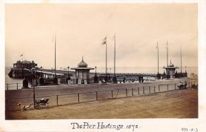 Hastings Pier history extends all the way back to the Victorian era, in 1872
