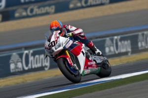 Michael Van der Mark's fine form continued in Race 1 with a 3rd consecutive podium