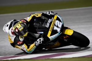 Thomas Luthi took victory in a controversial MOTO 2 race