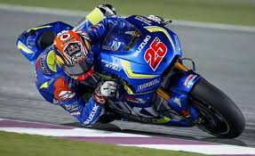 Maverick Vinales was unassailable on his works Suzuki GSXR-R, taking his maiden Moto GP victory, and the first win for Suzuki since 2007
