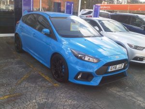 New Ford Focus RS has 350bhp from it's 2.3 litre Ecoboost motor, 4wd and a 167mph top speed according to Ford claims
