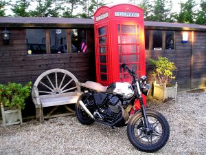 Custom Moto Guzzi V7 Mk2 is sure to put a smile on it's new owner's face north of the border