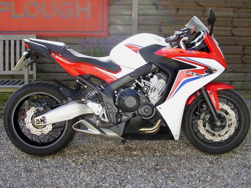 "SOLD, Honda CBR 650 FA-E ABS (Lowered 1"", A2 kit supplied"