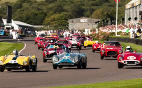 The Goodwood Revival Meeting sees multi million pound machinery raced to the limit
