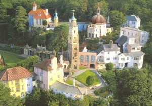 Portmeirion Village in the Snowdonia National Park is a sight to behold, and was the setting for '60s series 'The Prisoner' starring Patrick McGoohan
