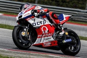 Scott Redding finished a hugely impressive 2nd fastest on his Octo Pramac Desmosedici GP15